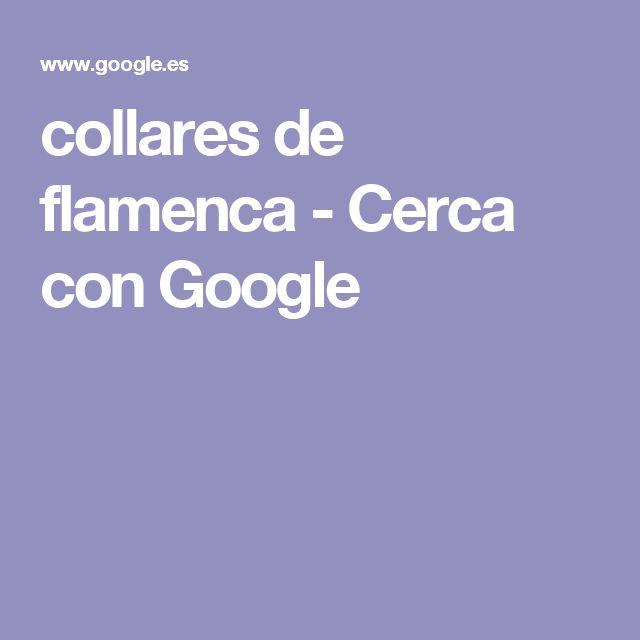 collares de flamenca - Cerca con Google