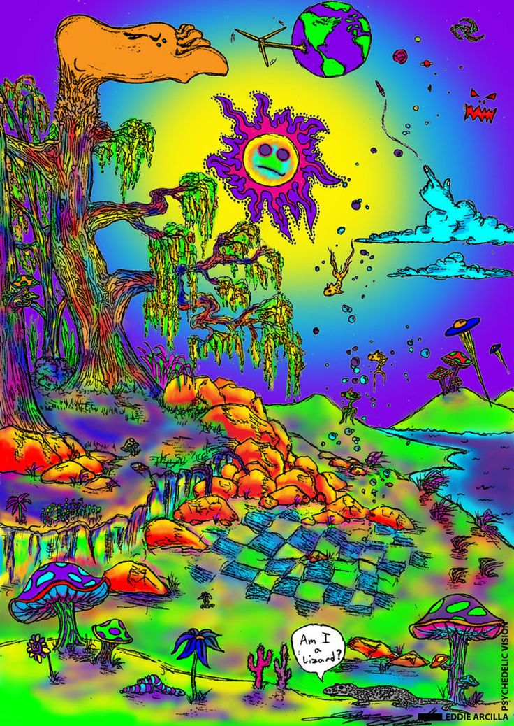 Crazy Trippy Drawings | ... - Crazy colorful, super trippy ... |Crazy Trippy Drawings