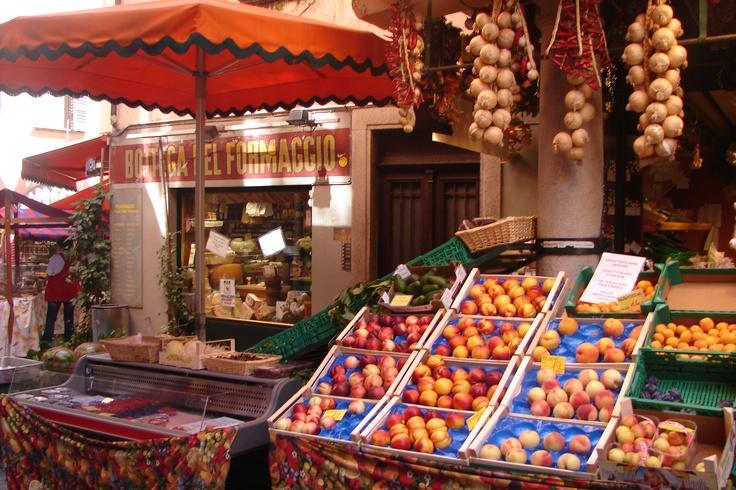 Markets in Lugano, Switzerland