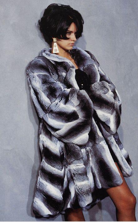 17 Best ideas about Chinchilla Coat on Pinterest | Fur coats Fur