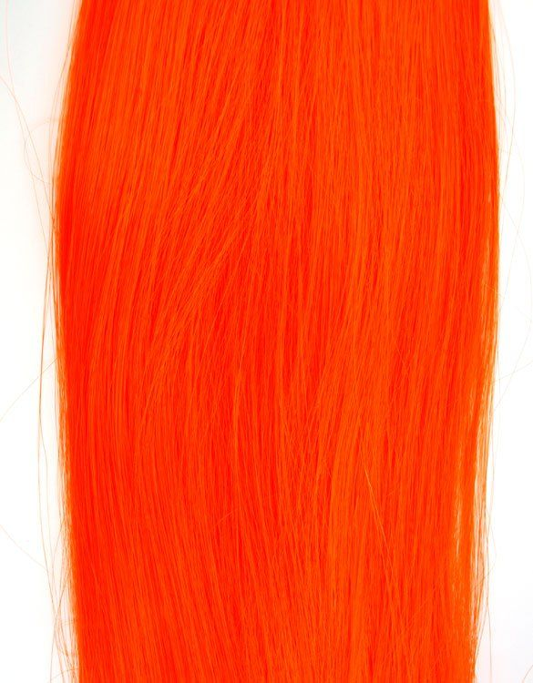 Neon Orange Loose Synthetic Hair