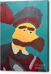 Canvas Print featuring the painting The Emperor Charles V 2014 - After Peter Paul Rubens by Patrick Francis