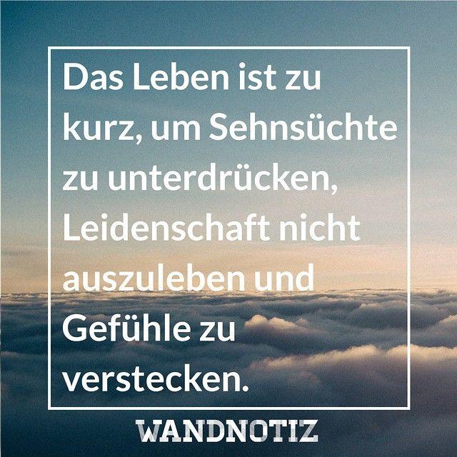 LEBEN!  #WANDNOTIZ