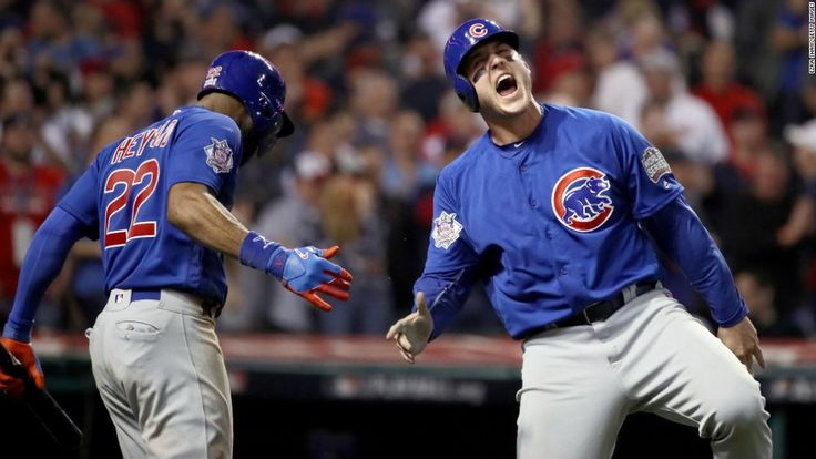 The Chicago Cubs are champions at long last, winning their first World Series since 1908.