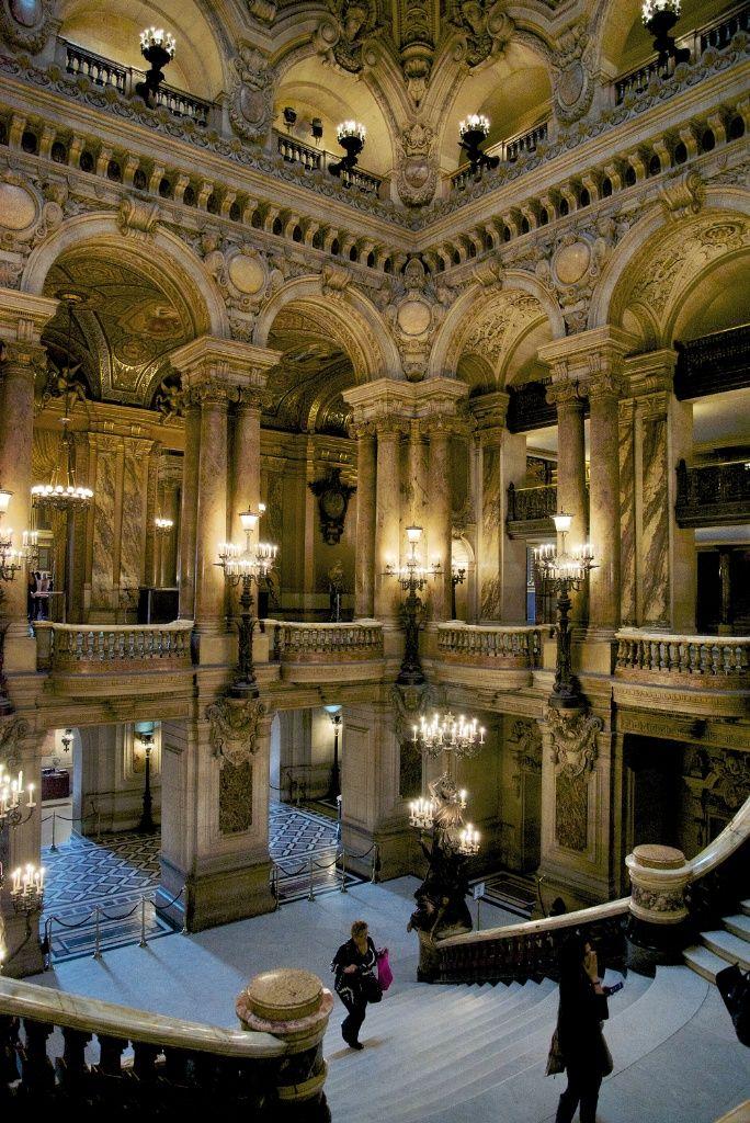 Le Grand Escalier de Charles Garnier, Paris