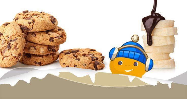 Ricette Light - Biscotti Banana e Cioccolato - Chiacchiere Dolci