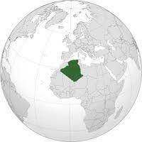 Aquí es donde se sitúa Argelia en un mapa