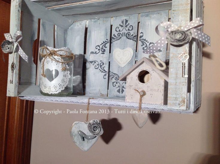 cassetta shabby chic | Maison des Souvenirs