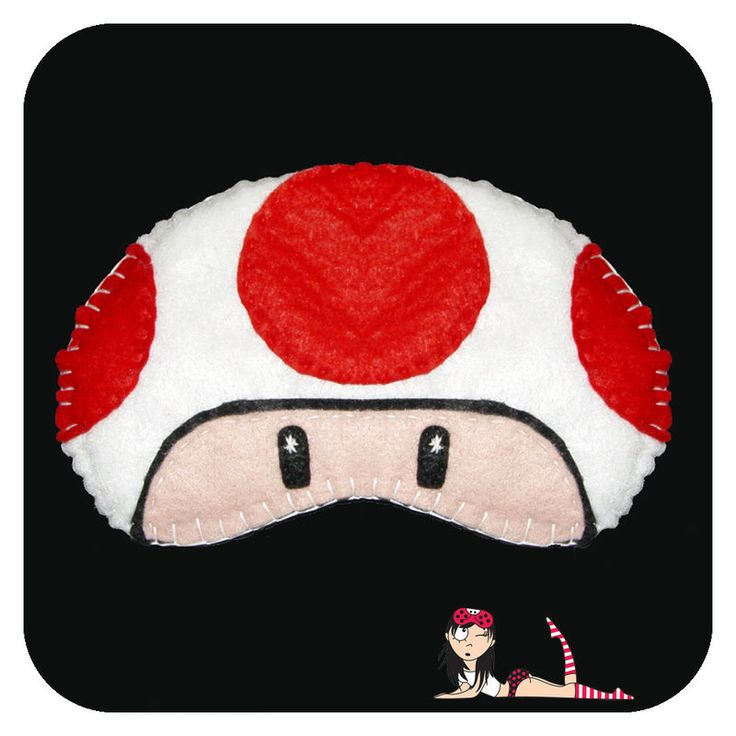 Sleep Mask Toad - Cookie Plushie