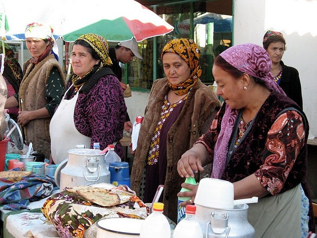 At Tolkuchka Bazaar, outside of Ashgabat. supposedly one of the largest outdoor bazaars in the world. They sell everything from cars to camels and sheep to clothes, machinery, jewelry, kitchenware, crafts, food, etc. etc. these ladies are the yoghurt Do you think that the fat in Dairy products are bad for you? You've been told that dairy fat from butter and cream CLOGS your arteries… WRONG! Dairy Fat Found to PREVENT Artery Clogging (study results) ... wp.me/P2U8xI-aq