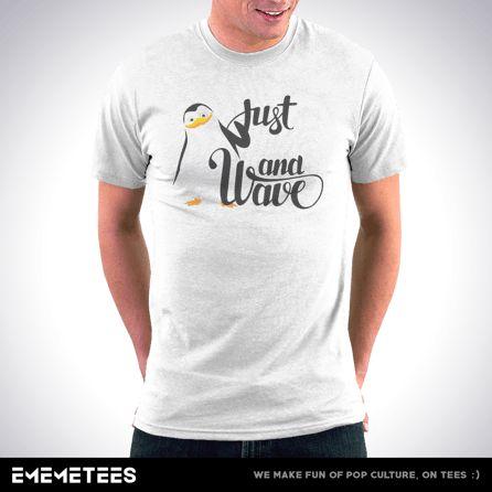 Smile And Wave (męska koszulka t-shirt)
