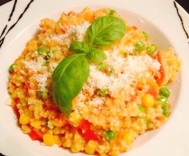 Rezept Hirsotto von Grazia87 - Rezept der Kategorie Hauptgerichte mit Gemüse