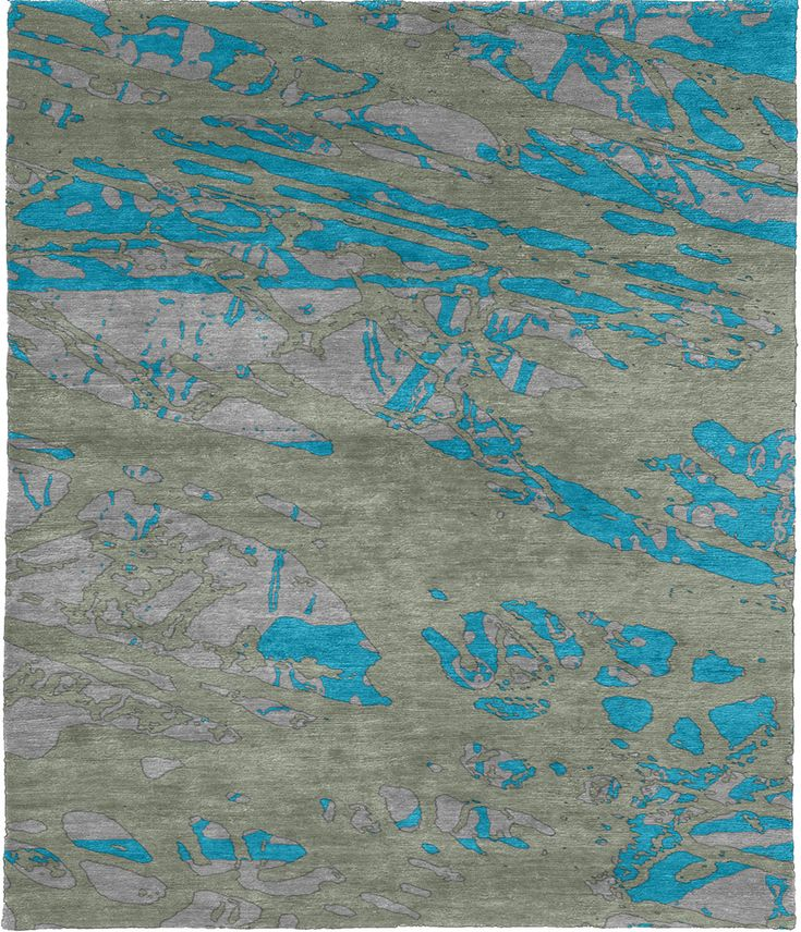 Cubanite Hand Knotted Tibetan Rug from the Tibetan Rugs 1 collection at Modern Area Rugs