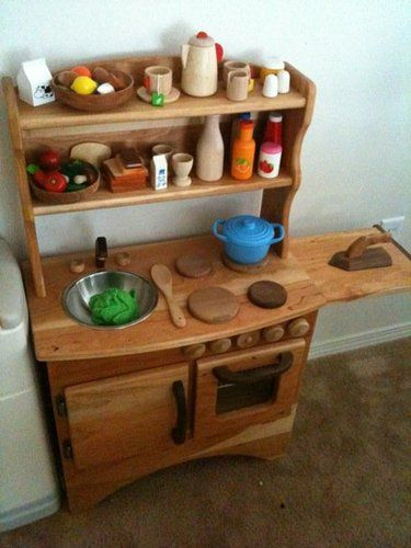 Wooden Play Kitchen Plans 32 best pretend {play kitchen} images on pinterest | play kitchens