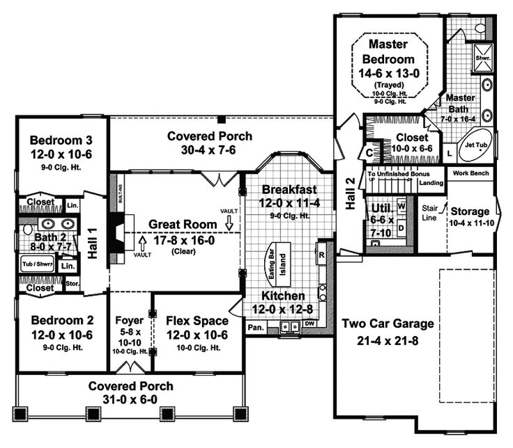 45 best floor plans images on pinterest home plans design floor haddonfield country home malvernweather Choice Image