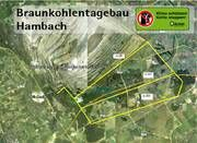 """Tagebau HambachIm Jahre 1978 wurde mit dem Aufschluss des Braunkohlentagebaus Hambach in der Niederrheinischen Bucht bei Köln begonnen. Seitdem entsteht zwischen Bergheim und Jülich das """"größte Loch Europas"""": Auf einer Fläche von 85 Quadratkilometern dringen die Bagger in Tiefen von über 450 Metern vor, um die Kohle zu fördern.Die RWE Power AG plant in Hambach den Abbau von insgesamt 2,4 Milliarden Tonnen Braunkohle bis zum Jahre 2040. Um die maximal 70m-mächtigen Kohle-Flöze zu…"""