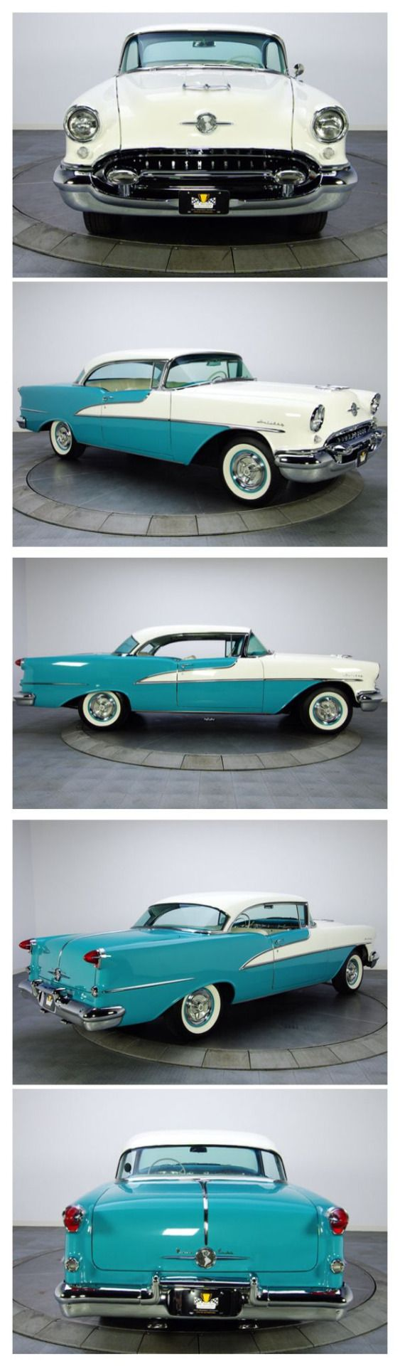1955 Oldsmobile 98 Holiday Coupe.