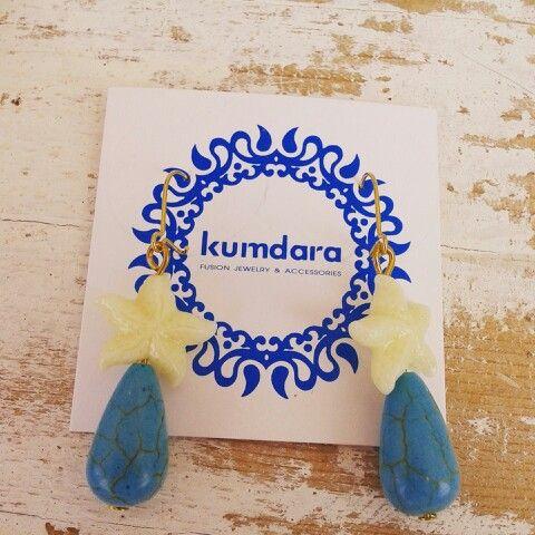 Pendientes#earrings,  marineros, handmade by Kumdara