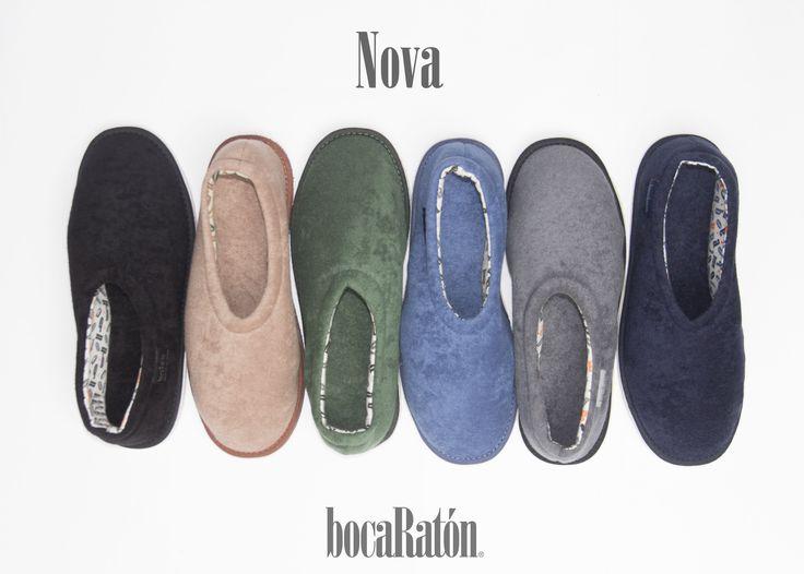 bocaRatón - Pantuflas para Hombres - Men's Slippers