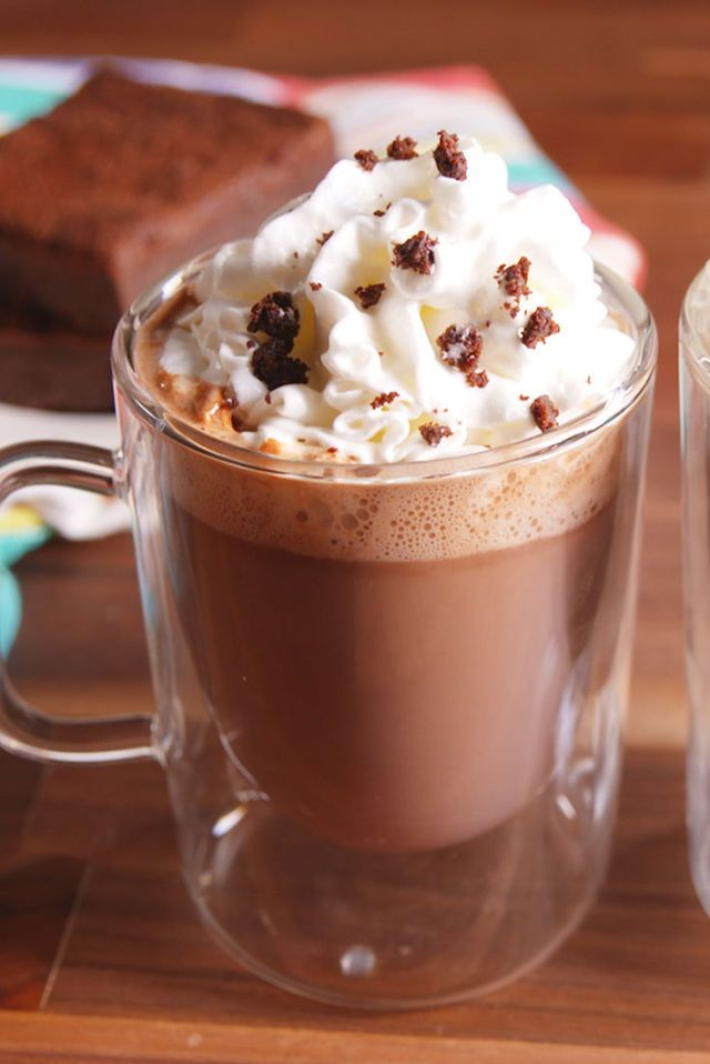 Brownie Batter Hot Cocoa Is As Incredible As It Sounds