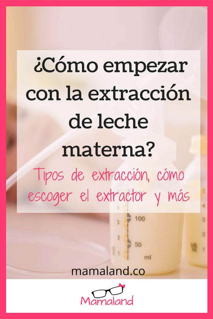 Haz clic en la imagen para saber todo acerca de la extracción de leche materna. #Mamaland #Lactancia #Lactanciamaterna #breastfeeding #pumps