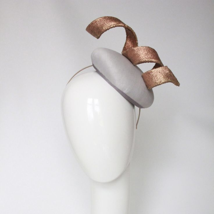 Silver and copper hat