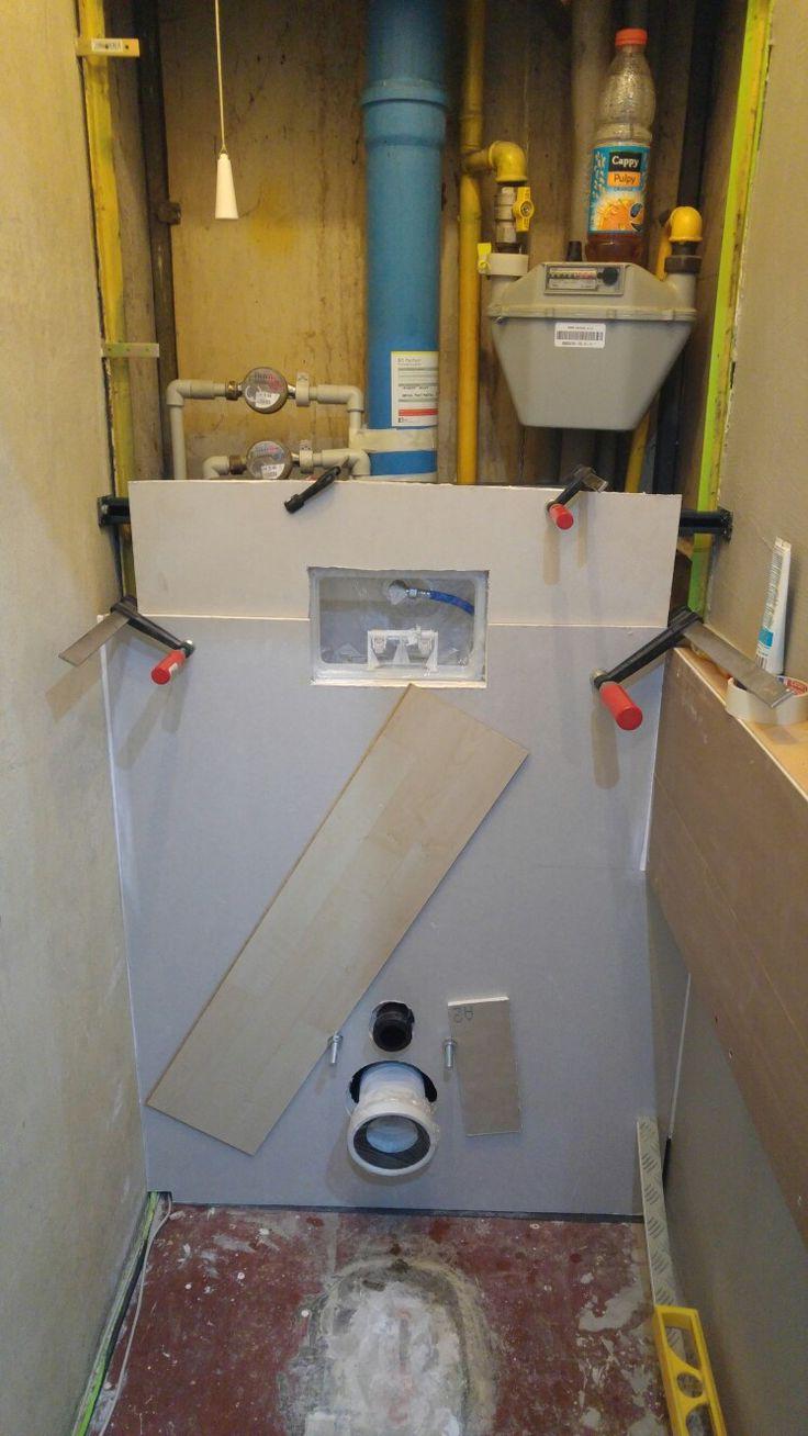 Zakrytí konstrukce WC