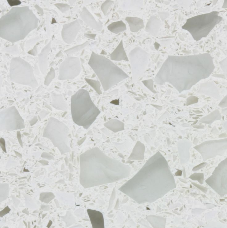 Alpine White Recycled Glass Countertops