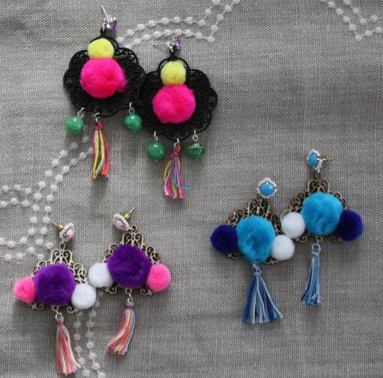 That's mine! | Boheminan mood earrings www.thatsmine.it