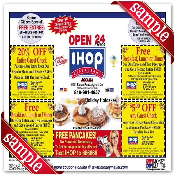 photo about Ihop Printable Menu identify Ihop discount coupons november 2018 printable / Cashback freebies