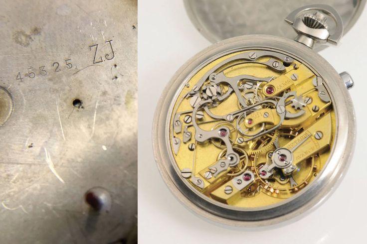 Rolex rattrapante cronografo orologio da tasca - Dr Crott Aste