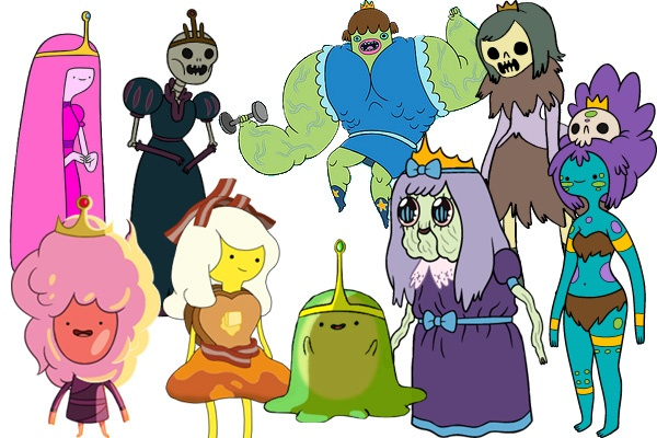Adventure Time Princesses 3