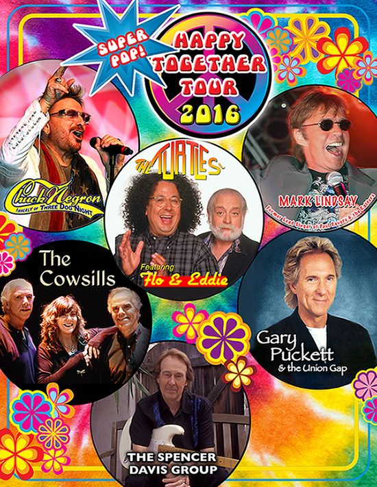 Happy Together Tour 2016 @ Humphreys 7/20/16. Chuck Negron was the best of the bunch