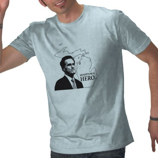 Romney Hometown Hero Tshirts