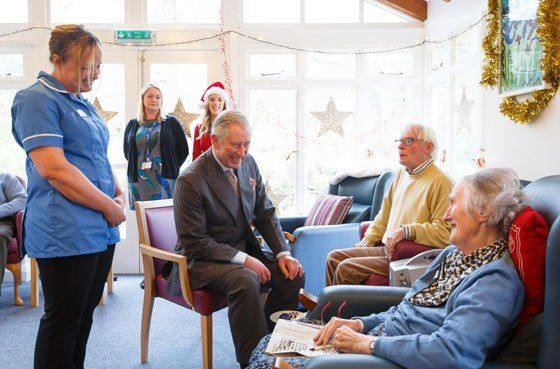 The Prince of Wales visits Sue Ryder Leckhampton Court Hospice #wicklow #hospice http://hotel.nef2.com/the-prince-of-wales-visits-sue-ryder-leckhampton-court-hospice-wicklow-hospice/  #sue ryder hospice # Sign up to our newsletter The Prince of Wales and The Duchess of Cornwall The Duke and Duchess of Cambridge Prince Harry News and Diary The Prince of Wales visits Sue Ryder Leckhampton Court Hospice 22nd December 2014 The Prince of Wales meets patients and staff at the Sue Ryder Leckhampton…