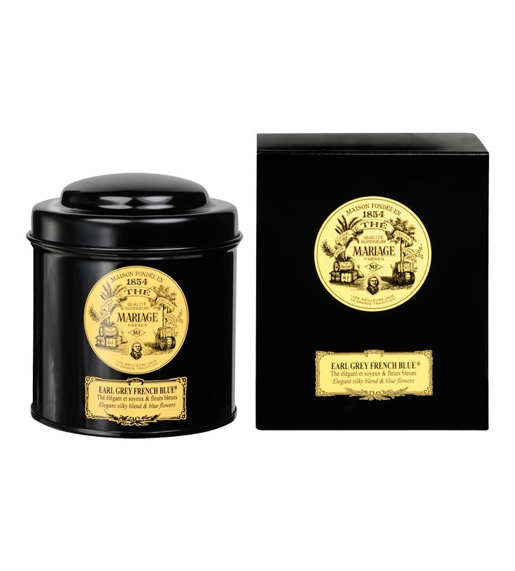 mariage freres earl grey french blue - Th Mariage Frres
