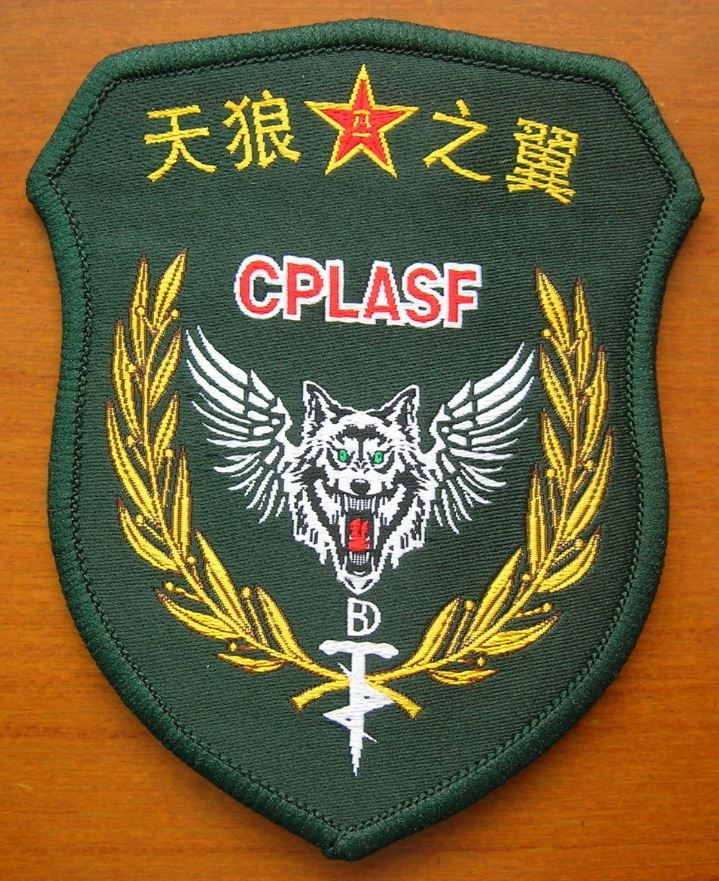 07's series China PLA Army Sky-Wolf Wings Special Forces Patch