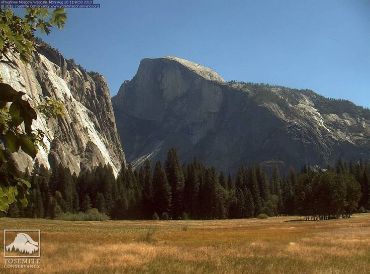 Yosemite is still open with blue skies and no smoke.