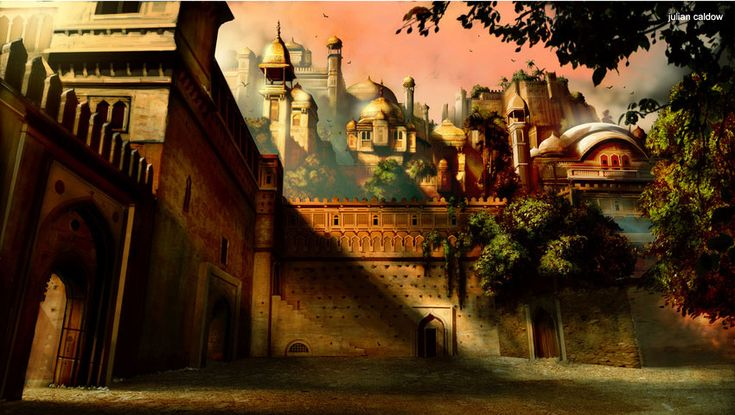 Concept Arts do filme Príncipe da Pérsia | THECAB - The Concept Art Blog