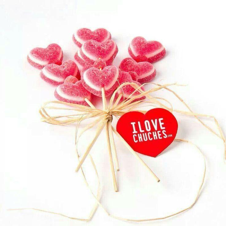 Brochetas san valentin