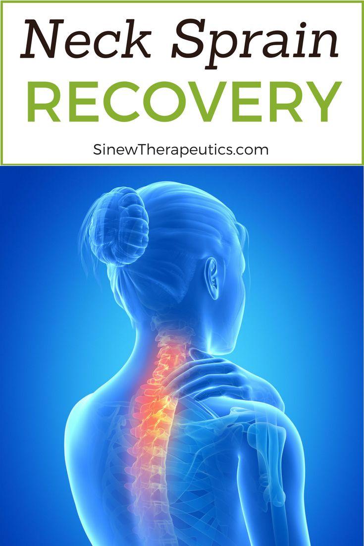 how to fix neck sprain