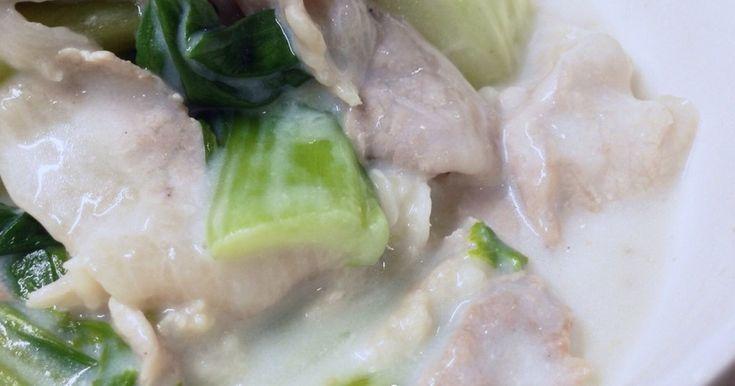 簡単おかず♡豚肉とチンゲン菜だけで美味しい一品♪