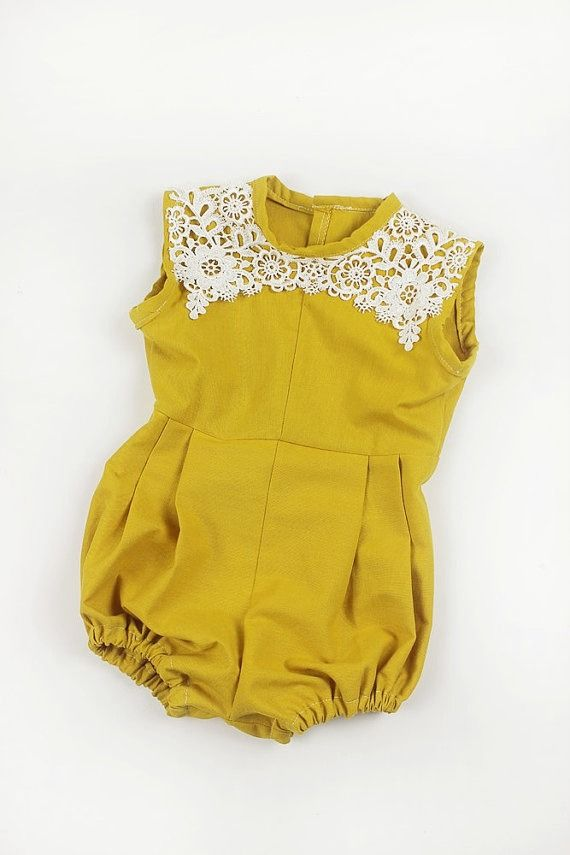 Handmade Romper by Bee Yang Couture on Etsy