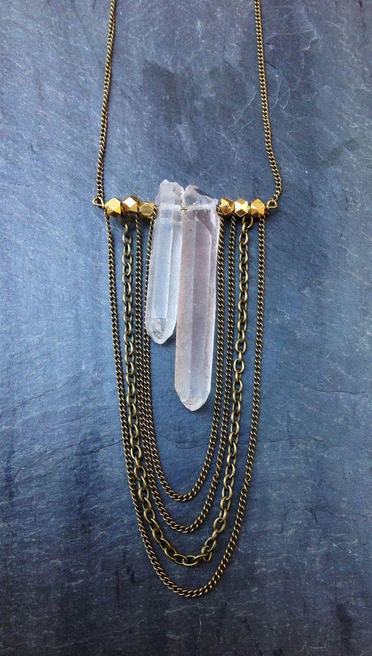 best 25 crystal necklace ideas on pinterest crystal. Black Bedroom Furniture Sets. Home Design Ideas