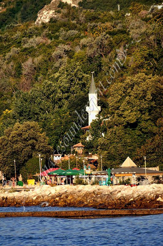 Balchik, Balchik front de mer, bulgaria, Castelul Reginei Maria din Balcik, Faleza Balcik, Mary Queen Castle in Balchik, Mary Queen Schloss in Balchik, Meer Balchik, seafront Balchik,