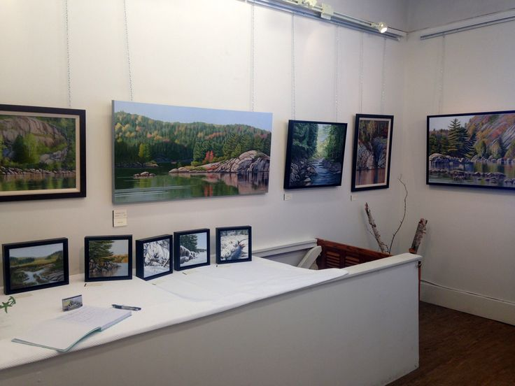 Installation shot for Linda Mullola's exhibition 'Close to Home'. April 2016, The Northern Artist Gallery
