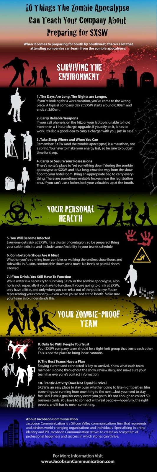 Zombob's Zombie News and Reviews: 10 Tips for Surviving the SXSW Zombie Apocalypse