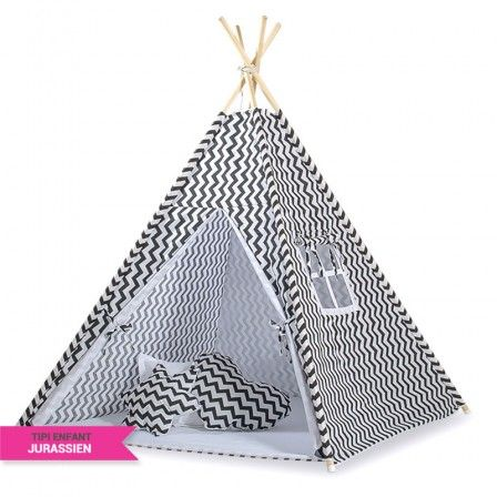 27 best tipi enfant by jurassien images on pinterest tents blue fabric and child room. Black Bedroom Furniture Sets. Home Design Ideas