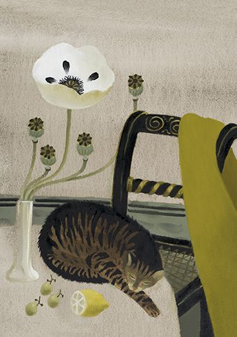 Sleeping Cat - Mary Fedden (1915-2012)