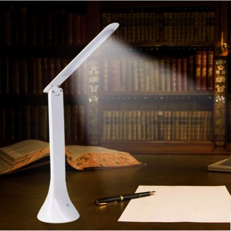 Adjustable USB Rechargeable Touch Sensor LED Desk Table Lamp Reading Light